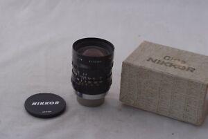 [Mint-] Nippon Kogaku Cine-Nikkor 13mm f/1.8 Movie Camera C Mount Lens 4/3 Lumix