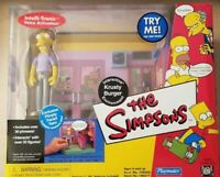 KRUSTY BURGER PIMPLY FACED TEEN The Simpsons Interactive 2001 Series 7 Playmates
