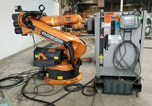 Kuka KR210 Robot Complete Working System w/  KRC2 Upgraded Software to WinXP