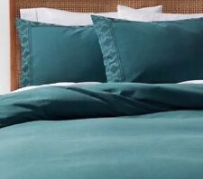 Opalhouse Tribal Aztec Duvet Cover Sham Set Teal TWIN XL TWIN 100% Cotton NIP