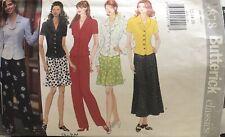 Butterick Classics pattern 4878 Misses'/Petite Top, Skirt Pants size 12,14,16