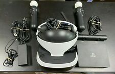 Sony PlayStation VR Bundle - Excellent Condition w/ Move Remotes and Camera