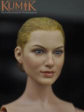 """KUMIK 1/6 Female Head Sculpt Model For 12"""" HT JIAOUDOL TTL Figure Body KM16-30"""
