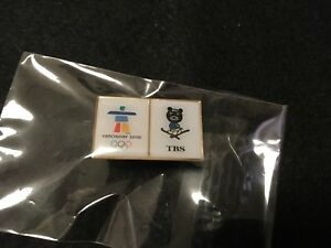 2010 VANCOUVER OLYMPIC JAPAN PIN BADGE MEDIA TBS PINS