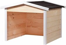 Mähroboter-Garage aus Holz, Rasenroboter-Garage, Garten-Haus, Carport, Station