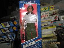 """G. I. JOE Caucasian Basic Training GRUNT-12"""" Action Figure - FREE SHIPPING"""