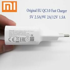 Original XiaoMi Mi8 Fast charger QC3.0 EU wall Usb type-c cable 9V 2A Quick Char