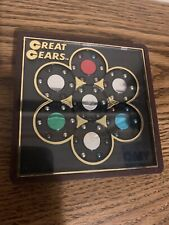 Great Gears Tomy Japan toy brain teaser puzzle 1980's