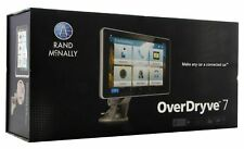"""Rand McNally Overdryve 7"""" Connected Car Gps Tablet w/ Dash Cam 070609015996"""