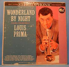 LOUIS PRIMA WONDERLAND BY NIGHT VINYL LP 1960 ORIGINAL PRESS NICE COND! VG/VG!!A