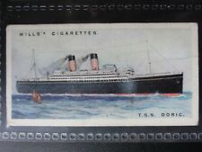 No.45 T.S.S. DORIC - Merchant Ships of The World - Wills Ltd 1924