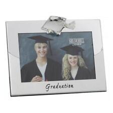 Silver 2 Tone Graduation Photo Frame with Hat Attachment FS23146