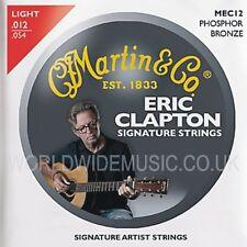 Martin MEC12 Cuerdas para Guitarra Acústica Clapton's Choice Medidor de Luz 012 - 054