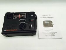 C Crane CC Solar Observer Wind Up Radio with AM FM Weather and built (NO BOX)
