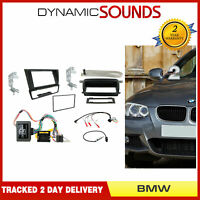 CTKBM011 Double Din Car Stereo Fascia Antenna Fitting Kit For BMW 2005-2012