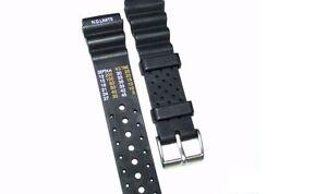Kautschukarmband für  Citizen Promaster in 18/ 20/ 22 & 24mm erhältlich