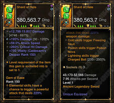 Diablo 3 RoS PS4 [SOFTCORE] - New 2.6 Modded Shard of Hate! [Ancient]