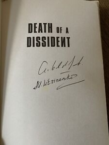 Death Of A Dissident, Signed By Alex Goldfarb And Marina Litvinenko,1st Edition