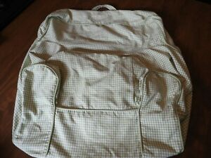 POTTERY BARN, My First Anywhere Chair Cover, Green & White Gingham check, SMALL