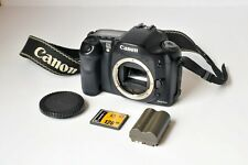 Canon EOS 10D 6.3MP Digital SLR Camera - Black Body Only Good Working Order