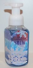 BATH & BODY WORKS FRESH SPARKLING SNOW GENTLE FOAMING HAND SOAP WASH PEAR MUSK