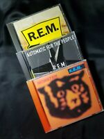 R E M Lot Of 3 CDs Monster Out Of Time Automatic For The People