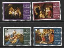 REPUBLIC OF MALAWI -1974- Christmas/Art Paintings 1974 - MNH Set/4 - Sc#229-#232
