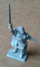"LOTR ""Hobbit"" Metal Mithril Miniature Strider Aragorn OOP #M124 MINT"