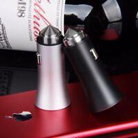 2 PORT USB CAR CHARGER HI AMP FAST CHARGING LIGHTER FOR TABLET MOBILE PHONE