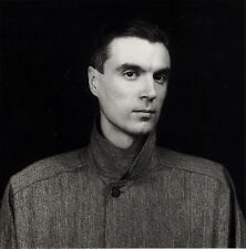 "1983 'DAVID BYRNE' photo art by ROBERT MAPPLETHORPE--14""X11""  TALKING HEADS"