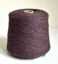 Italian alpaca - merino wool yarns, 1.63 lb / 740 grams cone
