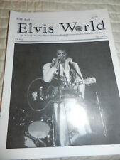 ELVIS PRESLEY ELVIS WORLD EW #52 BILL E. BURK FAN CLUB MAGAZINE