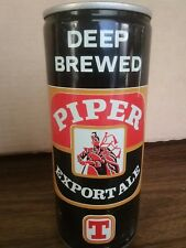 Piper Export Ale 1 Pint Beer Can Scotland Vintage