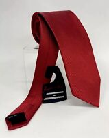 """Zianetti Men Dress Neck Silk Tie Red 58"""" long 3 1/4"""" wide New with"""