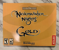 Neverwinter Nights: Gold (PC, 2003) COMPLETE - All Discs Included