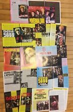 Powerman 5000, Lot of TEN Full, Two and Three Page Clippings