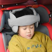 Baby Child Safety Car Seat Sleep Nap Aid Head Support Protector Belt (Grey) SN9F
