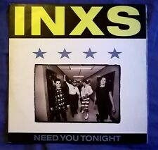 "INXS Need You Tonight MENDELSSON MIX 1988 FOUR TRACK VINYL 12"" Michael Hutchence"