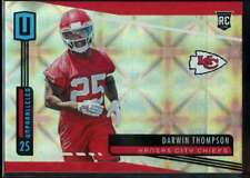 Darwin Thompson Rookie Galactic SSP Case Hit #286 Panini Unparalled 2019 Cheifs