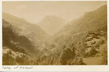 Suisse, Vallée de Finhaut, ca.1880, vintage albumen print Vintage albumen print,