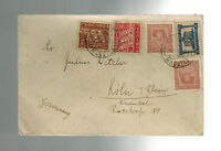 1936 Madeira Portugal cover to Germany