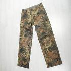 ORIGINAL Bundeswehr Pantalon de champ, BW ,taches camouflage,comme neuf,