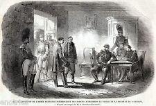 Battaglia di Solferino: CATTURA SPIE AUSTRIACHE. Spionaggio. Risorgimento. 1859