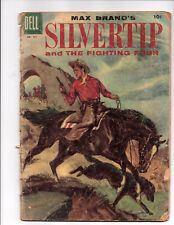Four Color #731 - Max Brand's Silvertip & the Fighting 4 (Oct 1956, Dell) -Good-