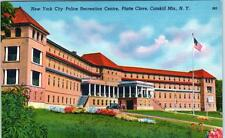 PLATTE CLOVE, NY   Catskills  New York City POLICE RECREATION CENTRE  Postcard