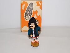 """VINTAGE TOY 6 1/2"""" HIGH RUSSIAN COSSACK MADE IN USSR DOLL FIGURE IN BOX"""