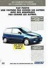Publicité Advertising 037  1996  la Fiat Punto ELX DA