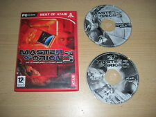 Master of Orion 3 PC CD ROM Bo-Moo III-Envío rápido