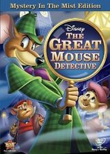 The Adventures of the Great Mouse Detective (DVD, 2010) DISNEY NEW