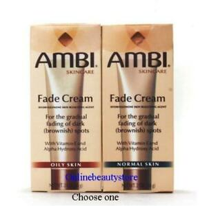 AMBI Skincare Fade Cream NORMAL OR OILY SKIN 2 oz, Exp. 1/2023